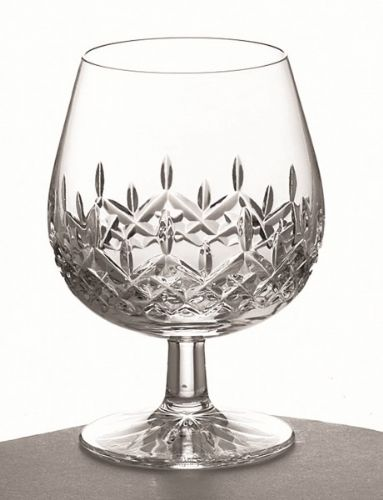 Galway Irish Crystal Longford Pattern Brandy Glasses (Pair)